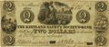 Obsoletes By State:Ohio, Kirtland, OH - Kirtland Safety Society Anti-Bank-ing Co. $2 Jan. 4,1837 OH-245 G4 Wolka 1422-02 Rust 13. PCGS Very Fine 30 Ap...