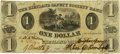 Obsoletes By State:Utah, (Salt Lake City, U.T.) - Reissued Kirtland Safety Society Bank $1 18__ OH-245 G2 Wolka 1424-02 Rust 67. PCGS Very Fine 35 Appa...