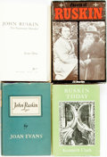 Books:Biography & Memoir, [Biography]. Group of Four about John Ruskin. Various publishersand dates.... (Total: 4 Items)