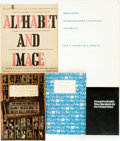 Books:Books about Books, [Books about Books/Bibliography]. Group of Five. Various publishers and dates.... (Total: 5 )