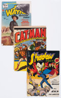 Golden Age (1938-1955):Miscellaneous, Golden Age Miscellaneous Comic Covers Only Group of 5 (Various Publishers, 1940s-50s).... (Total: 5 Items)