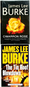 Books:Mystery & Detective Fiction, James Lee Burke. Pair of First Editions. Includes: The Tin RoofBlowdown. ADVANCE UNCORRECTED READER'S PROOF. Si... (Total: 2Items)