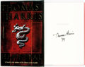 Books:Mystery & Detective Fiction, Thomas Harris. SIGNED. Hannibal. Delacorte Press, [1999].First Edition. Signed by the author. ...