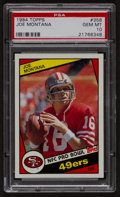 Football Cards:Singles (1970-Now), 1984 Topps Joe Montana #358 PSA Gem Mint 10....