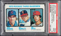 Baseball Cards:Singles (1970-Now), 1973 Topps Rookie 3rd Baseman #603 PSA Mint 9....