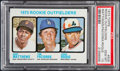 Baseball Cards:Singles (1970-Now), 1973 Topps Rookie Outfielders #606 PSA Gem Mint 10 - Pop Four....