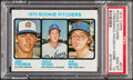Baseball Cards:Singles (1970-Now), 1973 Topps Rookie Pitchers Charlie Hough #610 PSA Gem Mint 10 - PopThree....