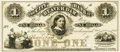 Obsoletes By State:Wisconsin, Beaver Dam, WI - City Bank of Beaver Dam $1 18__ WI-30 G2. Proof. PCGS Choice New 63.. ...