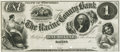 Obsoletes By State:Wisconsin, Racine, WI - Racine County Bank $1 18__ WI-685 G2. Proof. PCGS Choice New 63.. ...