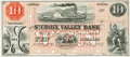Obsoletes By State:Wisconsin, St. Croix, WI - St. Croix Valley Bank $10 July 1, 1857 WI-715 G4. Proof. PCGS Gem New 66PPQ.. ...
