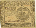 Colonial Notes:Continental Congress Issues, Continental Currency November 2, 1776 $4 Fr. CC-49. PCGS Choice New63.. ...