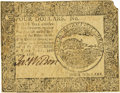 Colonial Notes:Continental Congress Issues, Continental Currency April 11, 1778 $4 Fr. CC-71. PCGS Very Fine 30Apparent.. ...