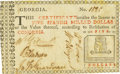 Colonial Notes:Georgia, Georgia (1776) Undated $5 Fr. GA-81. PCGS Extremely Fine 45Apparent.. ...