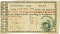 Colonial Notes:Georgia, Georgia 1777 No Resolution Date $17 Fr. GA-93. PCGS Very Fine 30.....