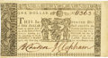 Colonial Notes:Maryland, Maryland January 1, 1767 $1 Fr. MD-44. PCGS Gem New 65PPQ.. ...