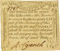 Colonial Notes:Massachusetts, Massachusetts October 16, 1778 1 Shilling 6 Pence Fr. MA-261. PCGSChoice About New 58.. ...
