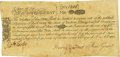 Colonial Notes:Massachusetts, Massachusetts Bay May 25, 1775 14 Shillings Fr. MA-144. PCGS Very Fine 30 Apparent.. ...