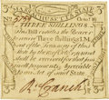 Colonial Notes:Massachusetts, Massachusetts October 16, 1778 3 Shillings Fr. MA-263. PCGS VeryChoice New 64PPQ.. ...