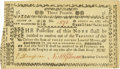 Colonial Notes:New Hampshire, New Hampshire August 24, 1775 3 Pounds Fr. NH-141. PCGS Choice About New 55PPQ.. ...
