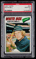 Baseball Cards:Singles (1970-Now), 1977 Topps Kevin Bell #83 PSA Gem Mint 10 - Pop Two....