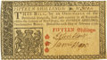 Colonial Notes:New Jersey, New Jersey February 20, 1776 15 Shillings John Hart Signature Fr.NJ-172. PCGS New 62.. ...