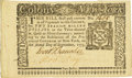 Colonial Notes:New York, New York September 2, 1775 $2 Fr. NY-178. PCGS Very Choice New64PPQ.. ...