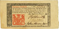 Colonial Notes:New Jersey, New Jersey March 25, 1776 18 Pence John Hart Signature Fr. NJ-176.PCGS Very Choice New 64.. ...