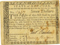 Colonial Notes:New York, State of New York June 15, 1780 $7 Fr. NY-211. PCGS Very Fine 30Apparent.. ...