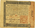 Colonial Notes:Pennsylvania, Pennsylvania March 20, 1771 5 Shillings Francis Hopkinson SignatureFr. PA-146. PCGS Very Fine 30 Apparent.. ...