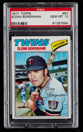 Baseball Cards:Singles (1970-Now), 1977 Topps Glenn Borgmann #87 PSA Gem Mint 10....