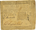 Colonial Notes:Pennsylvania, Pennsylvania June 18, 1764 5 Shillings George Clymer Signature Fr.PA-123. PCGS Very Fine 30 Apparent.. ...