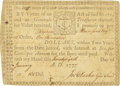 "Colonial Notes:Rhode Island, Rhode Island General-Treasurer 1777 Written Dates ""January 28,1777"" $100 "" 6%...within Two Years"" Note Fr. RI-UNL Anderson-S..."