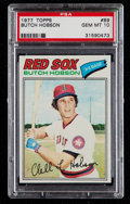 Baseball Cards:Singles (1970-Now), 1977 Topps Butch Hobson #89 PSA Gem Mint 10 - Pop Four. ...