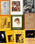 Miscellaneous:Catalogs, [Pre-Raphaelites]. Group of Ten Catalogs Related to Art and Literature. Various publishers and dates. ...