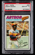 Baseball Cards:Singles (1970-Now), 1977 Topps Cesar Cedeno #90 PSA Gem Mint 10....