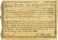 """Colonial Notes:Virginia, Virginia Treasurer's Loan Office Certificate for Reimbursement for""""Sequestering British Property"""" $83.33. May 13, 1780 Anders..."""