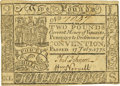 Colonial Notes:Virginia, Virginia July 17, 1775 Small Ordinance 2 Pounds Fr. VA-78a. PCGS Choice About New 55PPQ.. ...