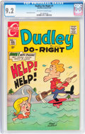 Bronze Age (1970-1979):Cartoon Character, Dudley Do-Right #1 (Charlton, 1970) CGC NM- 9.2 Off-white to whitepages....