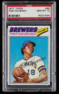 Baseball Cards:Singles (1970-Now), 1977 Topps Tom Hausman #99 PSA Gem Mint 10....