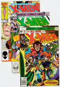 Modern Age (1980-Present):Superhero, X-Men Group of 74 (Marvel, 1977-89) Condition: Average VF....(Total: 74 Comic Books)