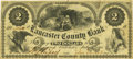 Obsoletes By State:Pennsylvania, Lancaster, PA - Lancaster County Bank $2 July 1, 1861 PA-215 G4aHoober 186-53. PCGS Very Fine 30.. ...