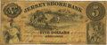 Obsoletes By State:Pennsylvania, Jersey Shore, PA - Jersey Shore Bank $5 September 4, 1858 PA-195 G4 Hoober 172-4. PCGS Fine 15.. ...