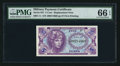 Military Payment Certificates:Series 641, Series 641 5¢ Replacement PMG Gem Uncirculated 66 EPQ.. ...