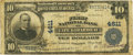 National Bank Notes:Missouri, Cape Girardeau, MO - $10 1902 Plain Back Fr. 627 The First NB Ch. # 4611 PCGS Fine 12.. ...
