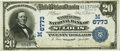 National Bank Notes:Missouri, Saint Louis, MO - $20 1902 Date Back Fr. 642 The Washington NB Ch.# (M)6773 PCGS Very Fine 25.. ...