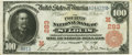 National Bank Notes:Missouri, Saint Louis, MO - $100 1902 Red Seal Fr. 686 The Fourth NB Ch. #(M)283 PCGS Very Fine 30.. ...