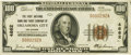 National Bank Notes:Oklahoma, Oklahoma City, OK - $100 1929 Ty. 1 Fr. 1804 The First NB & TC Ch. # 4862 PCGS About New 53.. ...