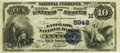National Bank Notes:Wisconsin, Antigo, WI - $10 1882 Date Back Fr. 545 The Langlade NB Ch. # (M)5942. ...