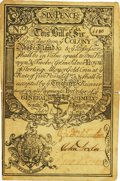 Colonial Notes:Rhode Island, Rhode Island February 14, 1743 6 Pence Fr. RI-52a. PCGS ExtremelyFine 45 Apparent.. ...