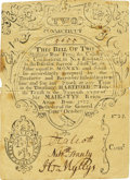 Colonial Notes:Connecticut, Colony of Connecticut July 10, 1733 Redated 1735 2 Shillings Fr.CT-41b. PCGS Very 30 Apparent.. ...